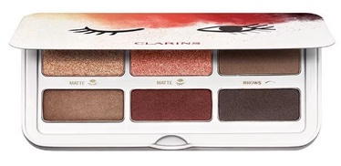 Acu ēnas Clarins Ready in a Flash Eyes & Brows Palette, 7.6 g