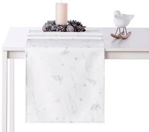 AmeliaHome Christmas Eve AH/HMD Tablecloth Silver 40x140cm