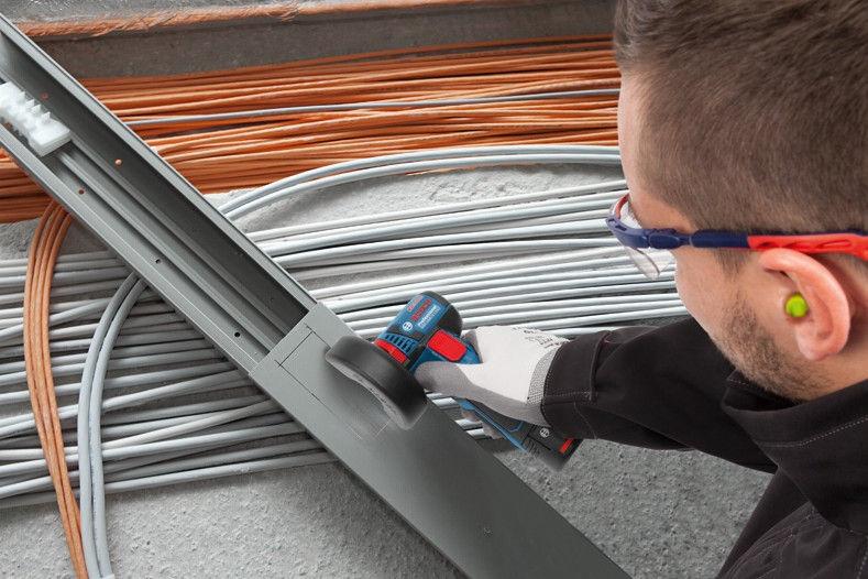 Bosch GWS 10.8-76 V-EC Cordless Angle Grinder