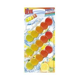 Pakabinamas tualeto muiliukas Dr. Devil Bicolor 5 Ball, 3 x 35 g