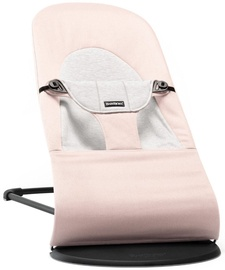 BabyBjorn Bouncer Balance Soft Light Pink/Grey, Cotton 005089