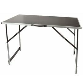 Стол для кемпинга VLX 70111, серебристый, 100 x 60 x 73 - 94 см