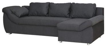 Kampinė sofa Bodzio Rojal Graphite, dešininė, 258 x 145 x 73 cm