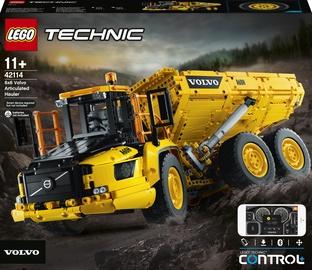 Konstruktors LEGO Technic 6x6 Volvo pašizgāzējs 42114, 2193 gab.