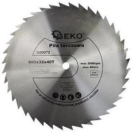 Geko Circular Saw Blade For Wood 600x32x40T