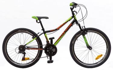 "Dviratis Kenzel Roxis SF 33cm 24"" Black Green Red 17"
