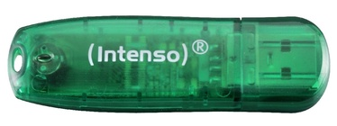 USB atmintinė Intenso Rainbow Green, USB 2.0, 8 GB