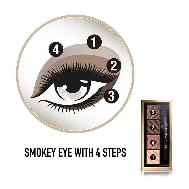 Max Factor Smokey Eye Drama Eyeshadow Kit Matte 1.8g 10