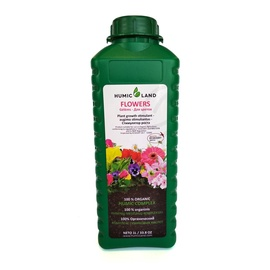 Trąšos organinės gėlėms Humic Land, 1 l