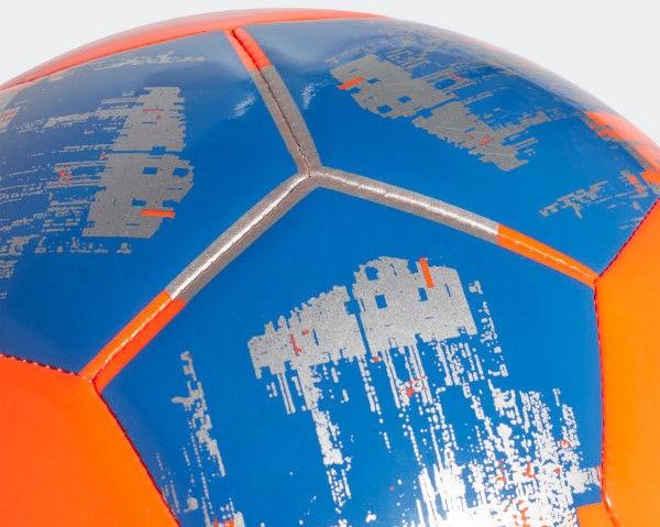 Adidas Team Junior Sala 290 Football CZ9572 Blue/Orange Size 4