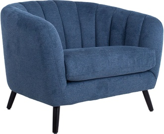Fotelis Home4you Melody 20210, mėlynas, 100x88x76 cm