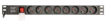 Удлинитель Gembird EG-PDU-014-F, 3 м, 250 В