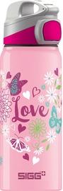 Sigg Kids Water Bottle Miracle Alu Love Pink 600ml