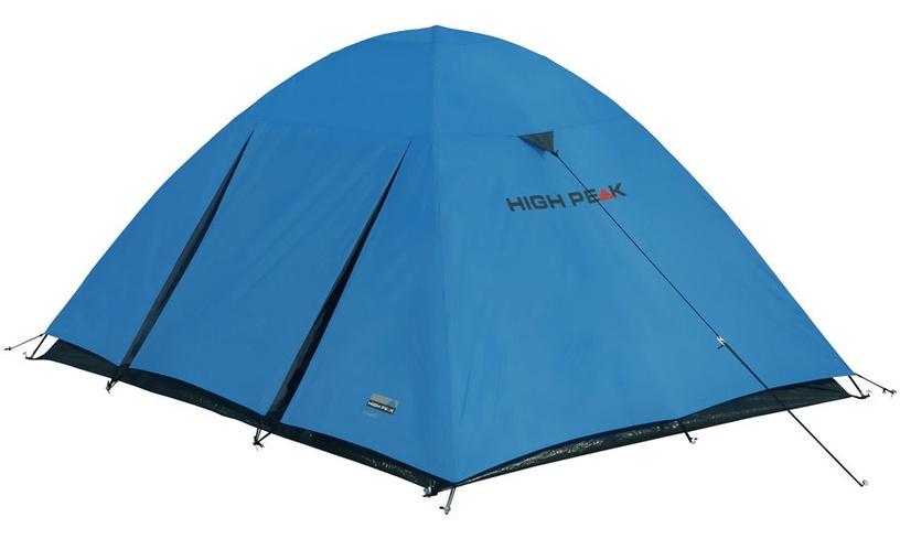 Trīsvietīga telts High Peak Texel 3 10175, zila/pelēka