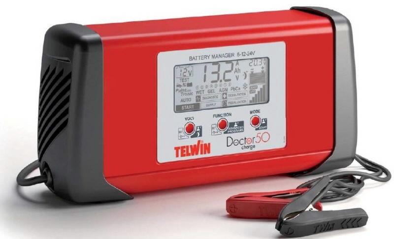 Зарядное устройство Telwin Doctor Charge 50, 24 В, 40 а