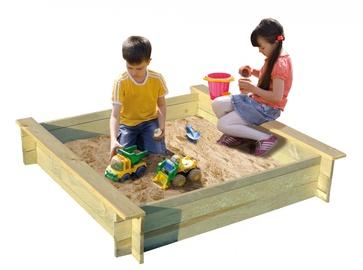 Smėlio dėžė, 120 x 120 x 24 cm