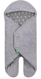 Lulando Velour Wrap For Buli Grey With White Stars
