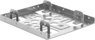 "Delock Mounting Frame 2 x 2.5"" To 3.5"" Silver"