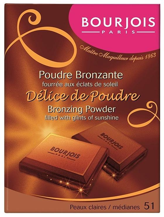 Bronzējošs pulveris BOURJOIS Paris Delice de Poudre 51, 16.5 g