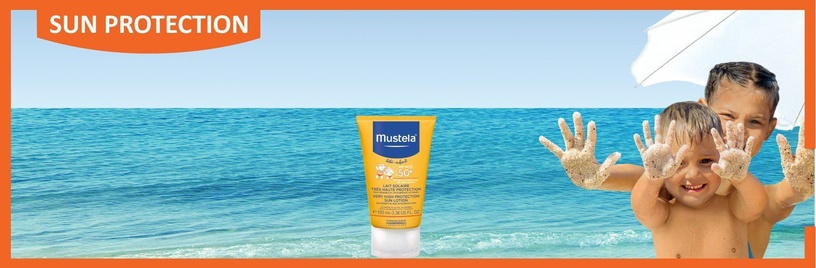 Mustela Baby Sun Lotion SPF 50+ 100ml