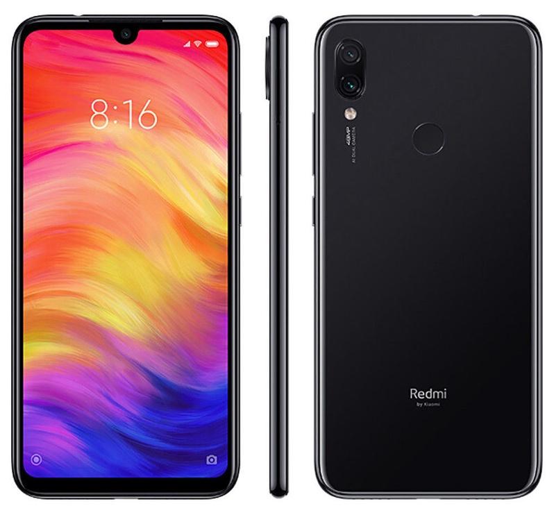 Telefonas Xiaomi Redmi Note 7 4/64GB Dual Space Black