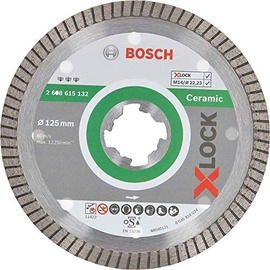 Bosch X-Lock 2608615132 Ceramic Diamond Cutting Disc 125x1.4mm