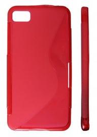 KLT Back Case S-Line Nokia 309 Asha Silicone/Plastic Red