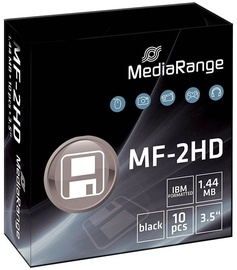 "MediaRange 3.5"" MF-2HD 1.44MB Floppy Disk 10pcs"