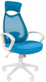 Chairman Chair 840 White TW43\TW-34 Light Blue