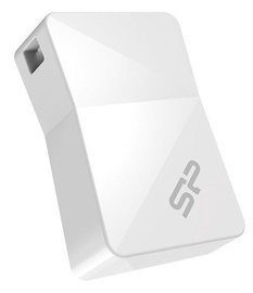 Silicon Power 8GB Touch T08 USB 2.0 White