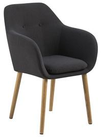Home4you Chair Emilia Dark Grey AC59831