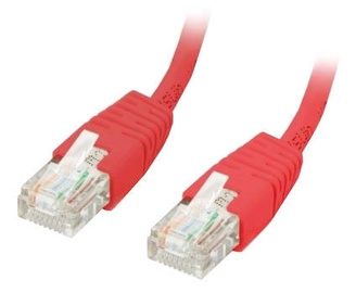 Equip Cable CAT 5e U/UTP 1m Red