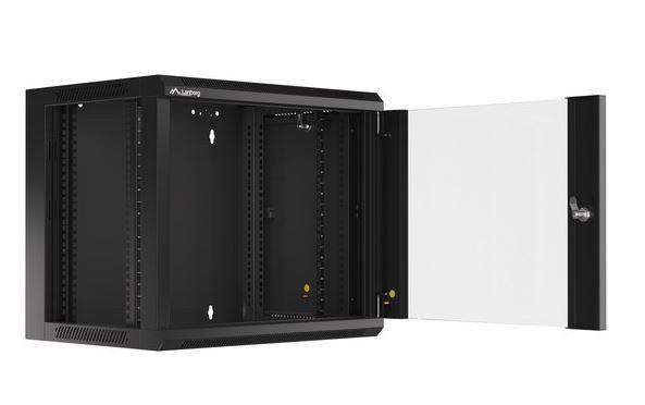 Серверный шкаф Lanberg Wall-Mounted Rack 19'' 9U, 54 см x 57 см x 50 см