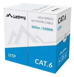 Lanberg Patch Cable UTP CAT6 305m Grey
