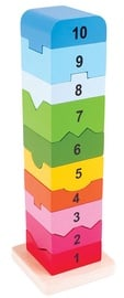 Bigjigs Toys Number Tower BB107