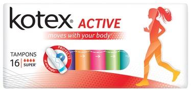 Kotex Active Super Tampons 16pcs