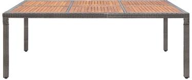Садовый стол VLX Garden Table 46135, коричневый/серый