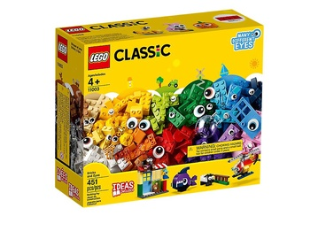 Конструктор LEGO Classic Кубики и глазки 11003, 451 шт.
