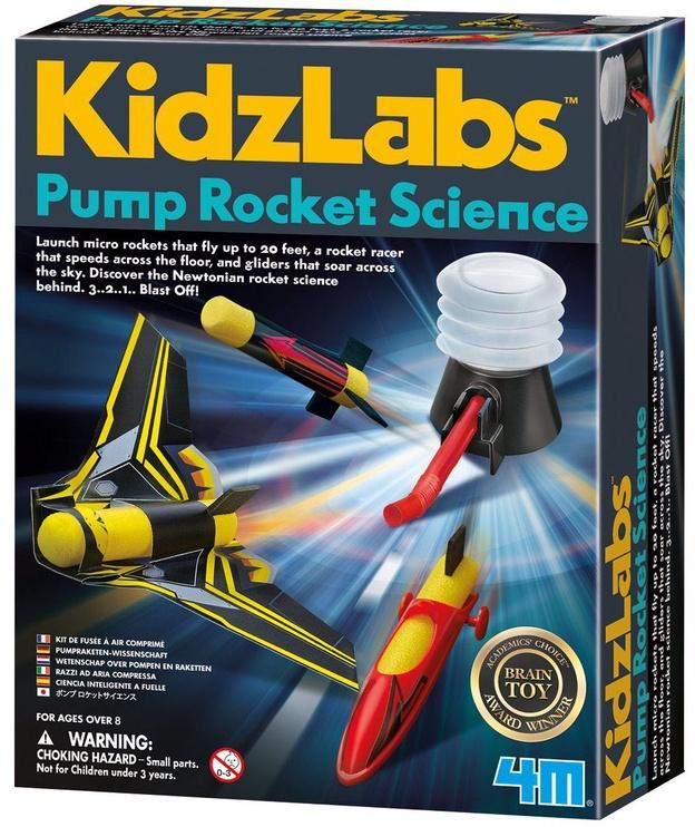 4M KidzLabs Pump Rocket Science 3355