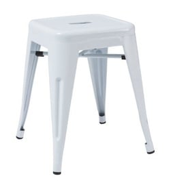 Signal Meble Stool Spot White