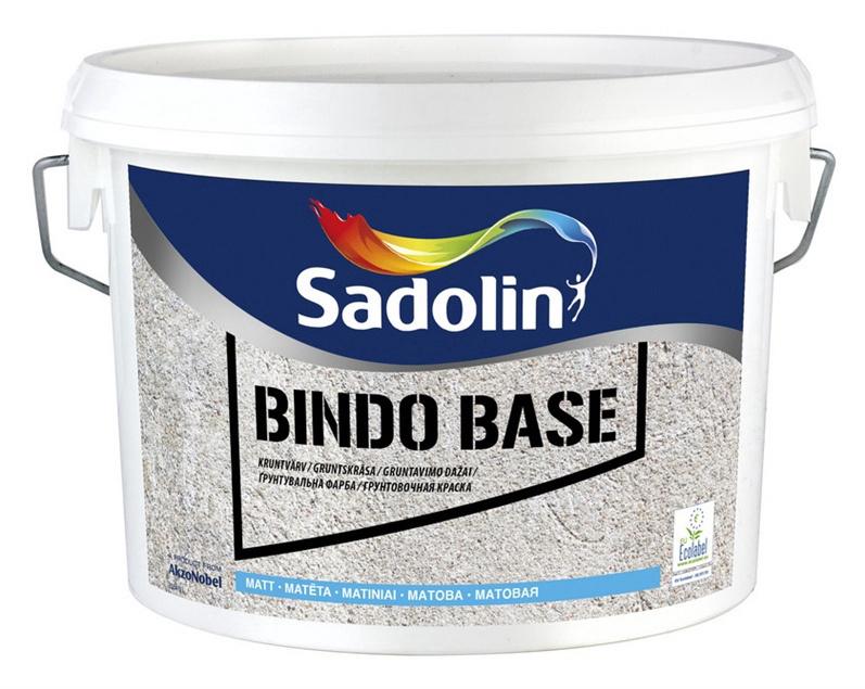 Gruntskrāsa Sadolin Bindo Base, 2.5 l