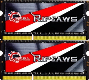 G.SKILL Ripjaws 8GB 1600MHz CL9 DDR3L SODIMM KIT OF 2 F3-1600C9D-8GRSL
