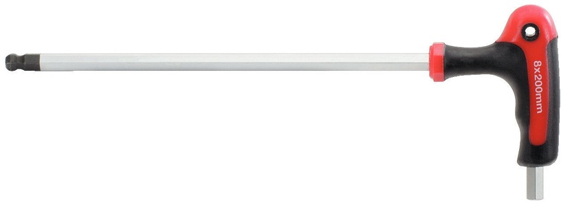 KSTools ERGOTORQUEplus T-handle Ball Ended Hexagon Key Wrench 4mm