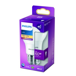 GAISM.D.SP.PHILIPS A60 8W E27 2700K MAT.