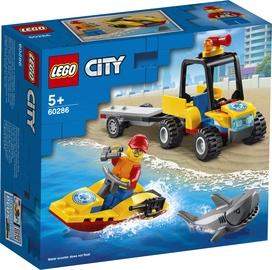 Konstruktorius LEGO City paplūdinio gelbėtojai 60286