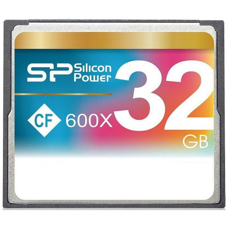 Mälukaart Silicon Power 600X Compact Flash 32GB