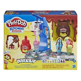 Rotaļlieta modelīns Hasbro PlayDoh Kitchen Creations Drizzy Ice Cream Playset