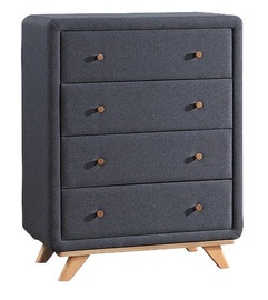 Signal Meble Melissa Chest Of Drawers Gray