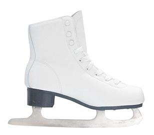 SN Ice Skates PW-215-1 White 34