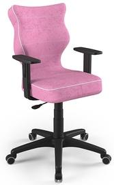 Детский стул Entelo Duo VS08, черный/розовый, 375 мм x 1000 мм